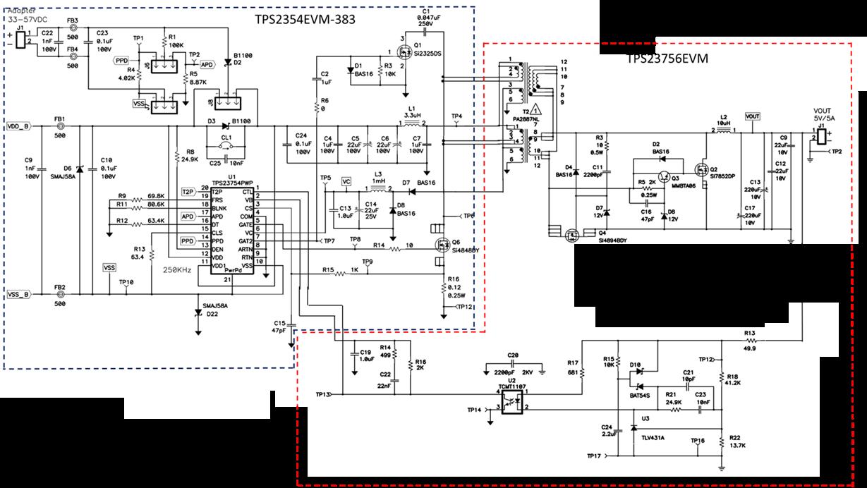 resolved  tps23754  schematic for vout   5v