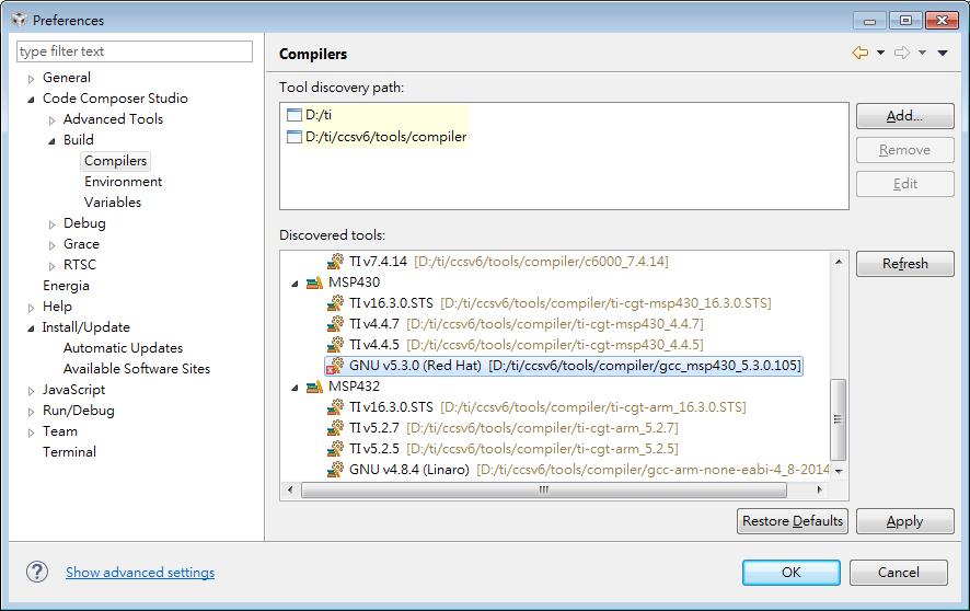 Gcc Compiler Installation Failed Code Composer Forum