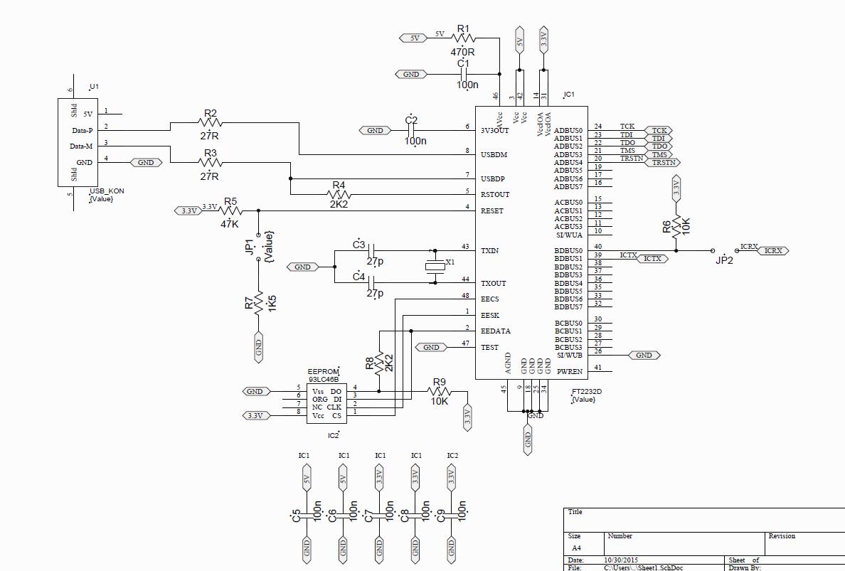 resolved  tm4c123gh6pz-ftdi ft2232d integration problem - tm4c microcontrollers forum