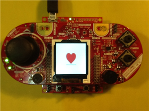 Engineer and E2E MVP Jan Cumps showed his love by coding a heart on his MSP430 LaunchPad.