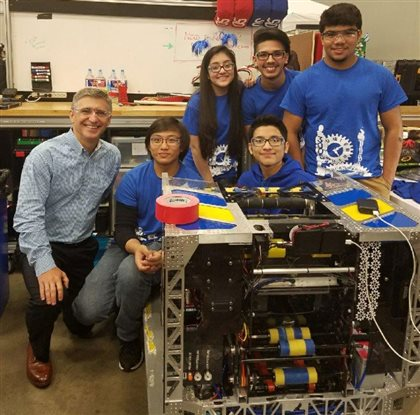 Robotics competitions are an impactful way to get kids interested in STEM.
