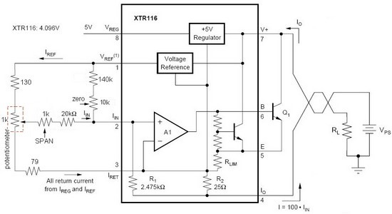 resolved  problem with linearity xtr116 - precision amplifiers forum