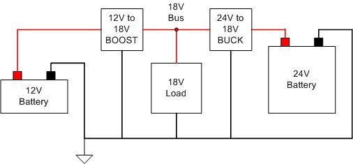 resolved  buck    boost converter design for very high