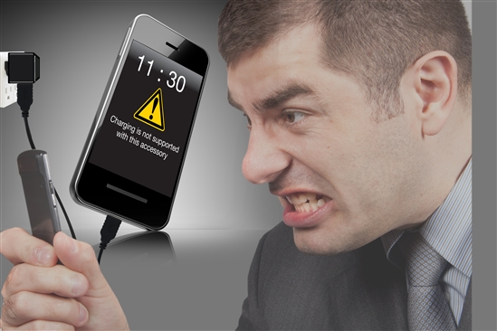 USB smart phone charging frustration