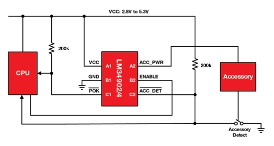 LM34902 and LM34904 schematic