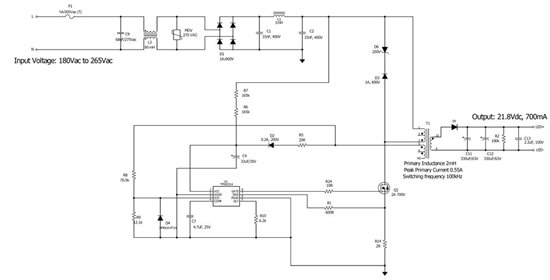 complete schematic based on TPS92314
