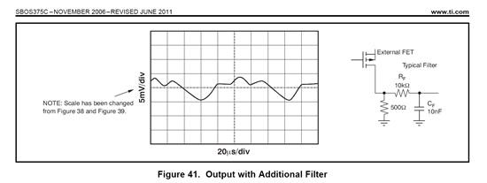 resolved  xtr111 additional filter
