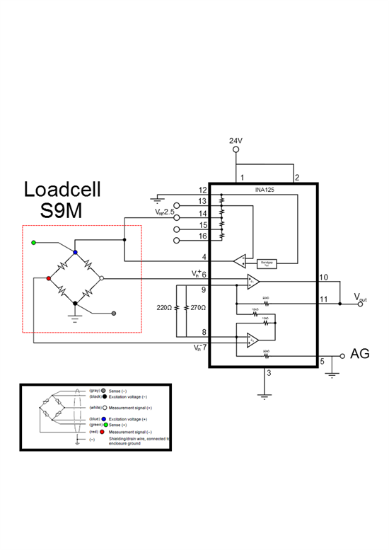 force transducer amplified with ina125 - precision amplifiers forum - precision amplifiers