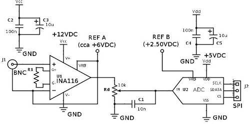 Resolved Ph Measurement With Tis Ina116 Amplifiers Forum