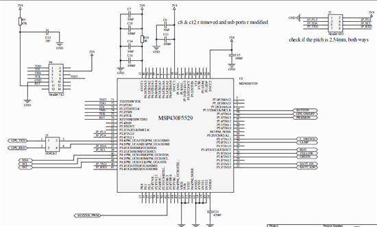 Resolved Msp430f5529 Avcc1 Decoupling Capacitor Msp