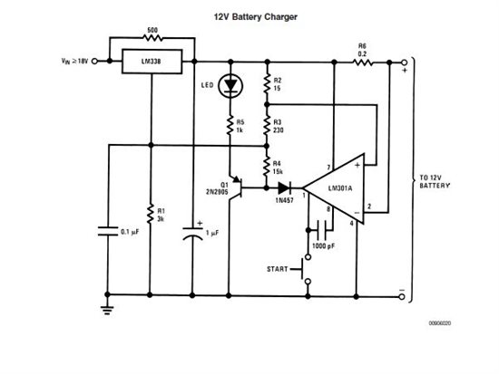 lm338 battery charger - battery management - chargers forum - battery management