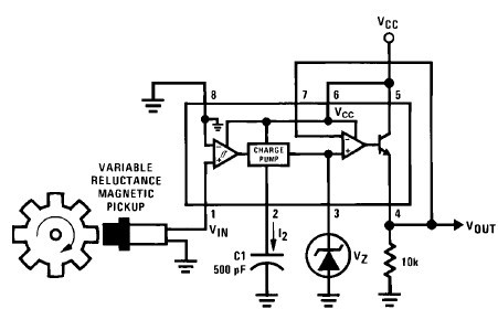 resolved  lm2907 frequency to voltage converter general breadboard layout