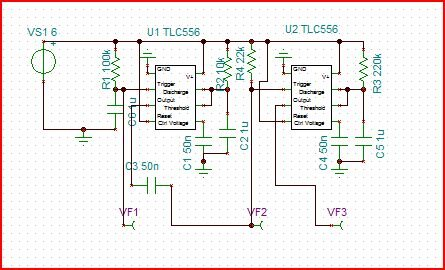 Resolved] TLC556 schematic model has only ONE 555 timer displayed ...