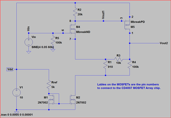 Mosfet Spice Model From Data Sheet