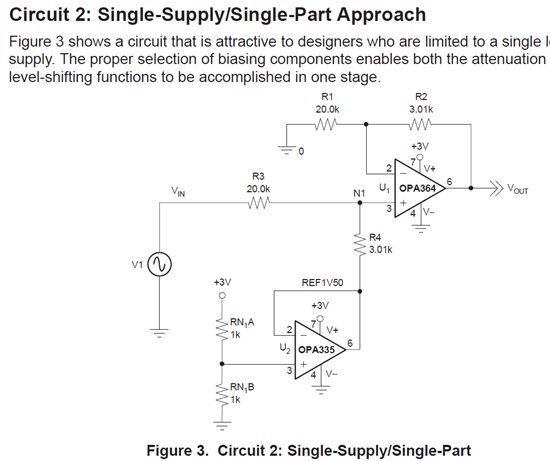 resolved  thermistor circuit design based on reference