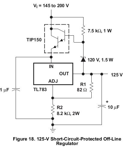 High Voltage Regulator : Resolved tl high voltage input linear regulators