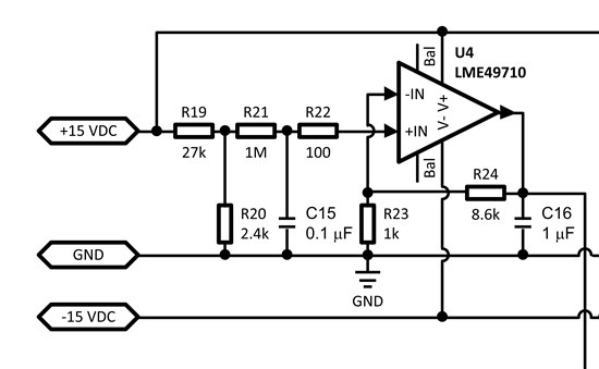 LME49710.  AN-1651 shows an application circuit for the. with a 1uF load capacitor.