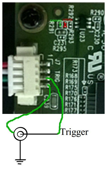Resolved] How to modify the circuit board to trigger a