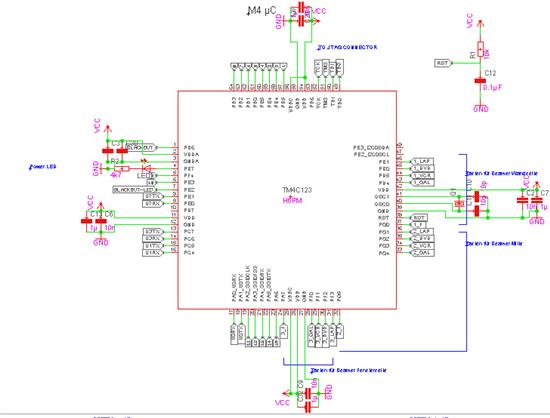 standard schematic for cortex m4
