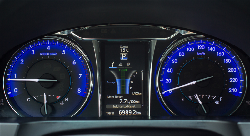 Dashboard display